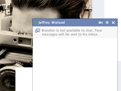 New Chat Chrome facebook chat