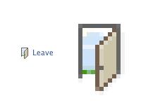 Leave The Door Open facebook icons door