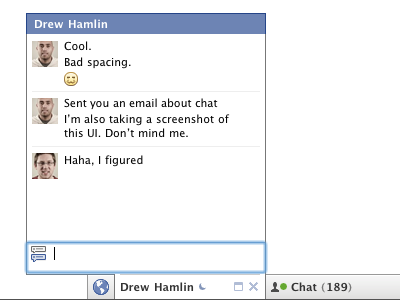 Chat Flyout Updates facebook chat