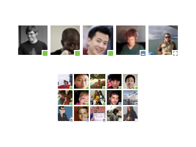 Face Piles v2 facebook icons