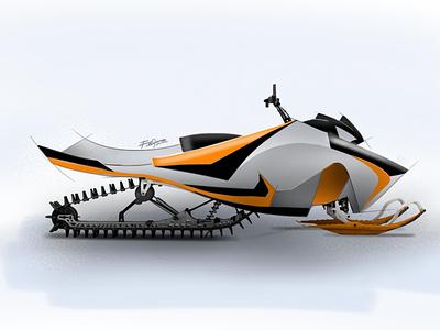 Snow Scooter sketchbook design product design illustration