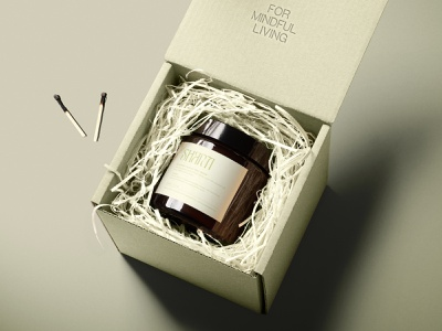 BOX/LABEL for SHANTI visual identity label box photoshop minimal logo illustrator graphic design design branding