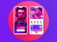 Karaoke Singing App Redesign