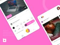 Social Polling App UI