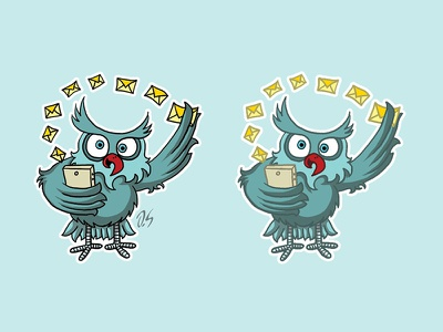 Let me check your e-mail email marketing inbox bird freelance toynak london email owl