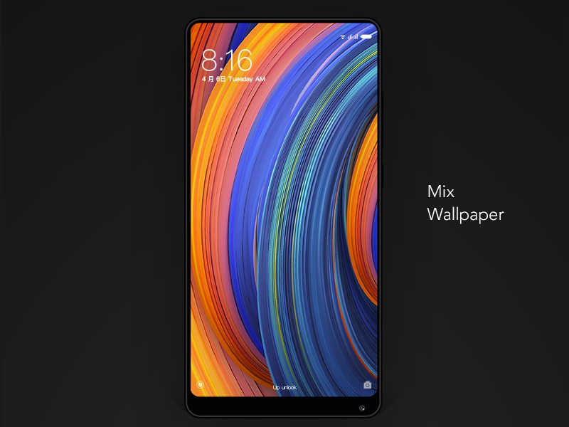 Xiaomi Mix Wallpaper: Mi MIX2 Wallpaper By Huang Kai