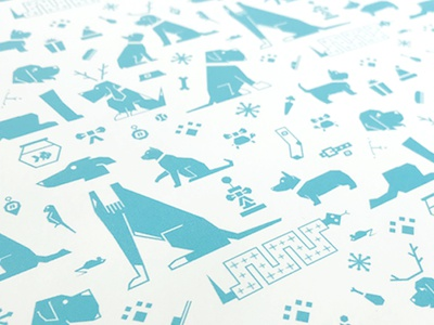 Howliday Wrapping Paper