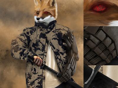 FOX of the DESERT