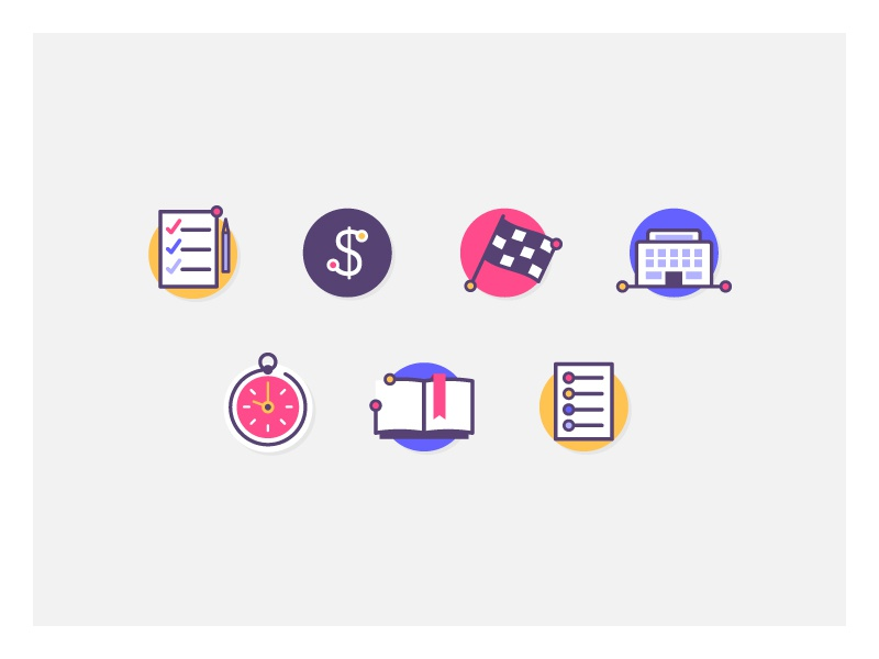 Education Icons student schedule books university school icon set icons education