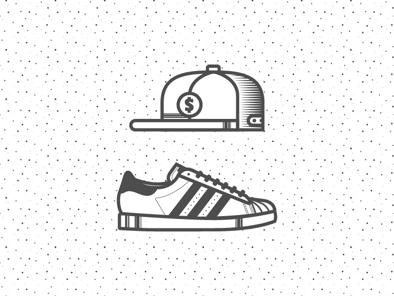 Hiphop 02 hip hop originals shoes classic adidas hat snapback line icon pattern