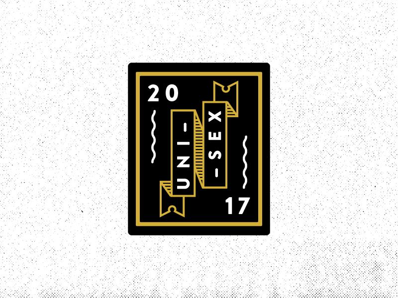 Unisex clothing ribbon brand unisex patch