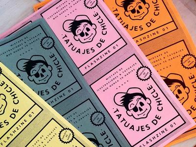 Fanzine covers photocopy gum pirate cover diy zine fanzine