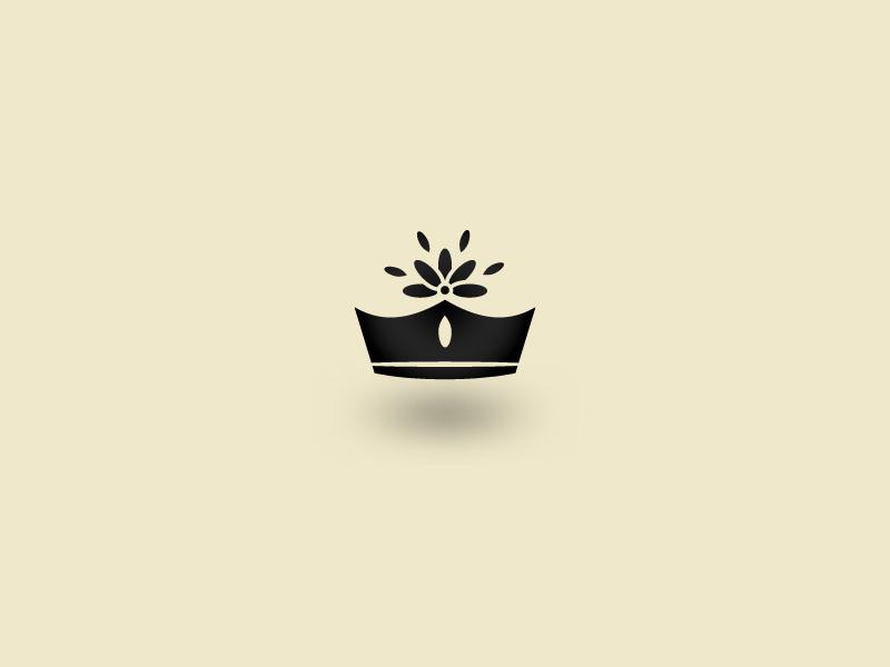 Daisy Flower crown daisy flower love petal black logo symbol icon queen flower crown