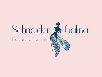 Logo branding beauty salon salon salon logo logodesign logotype design illustration vector logo
