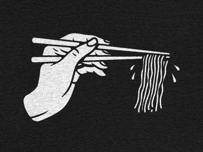 No Noodle Left Behind - Back Graphic