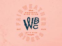 Weekend Bike Club - Fairweather Riders