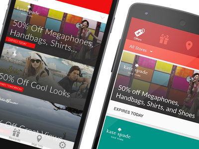 A Preview ios ios8 android material design