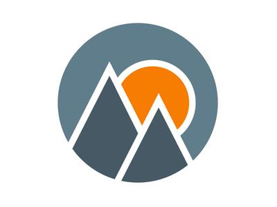 Mountain Sunrise logos mountains sunrise mountain