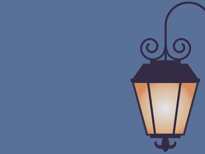 A Street Lamp in Paris parisian france light street lamp paris