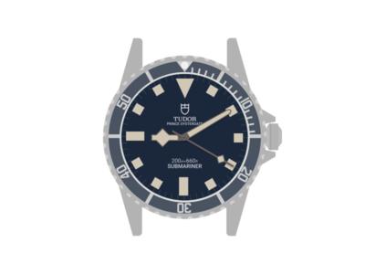 Tudor Submariner Snowflake figma dive watch submariner tudor snowflake watch