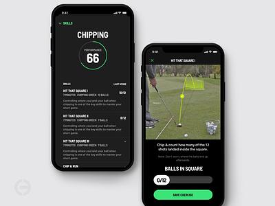 CORE Golf - Drill branding golf app