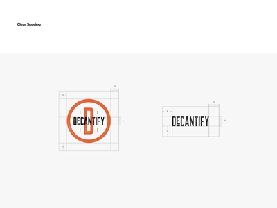 DeCantify Logo - Margins