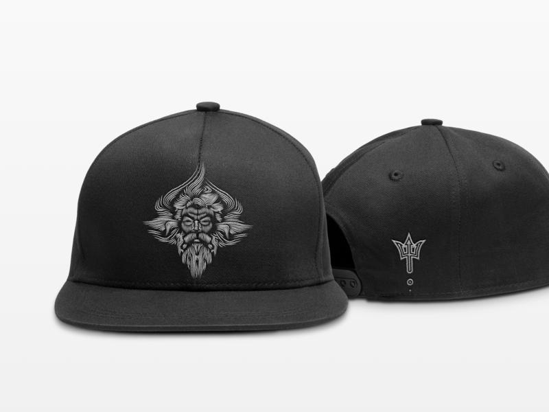 Neptune Snapback Hat