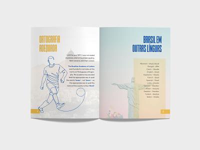 Magazine - Brazil or Brasil? Page 5-6 graphic design