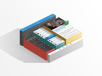 Slider for SMediaLink web banner slider app ui ux ios mobile application