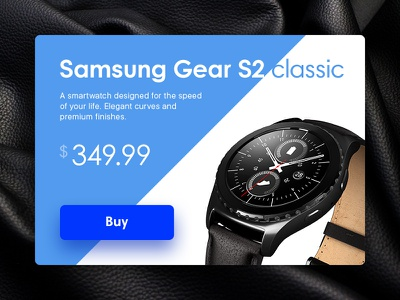 Smart Banner price material smartwatch leather watch neon simplicity flat glow button ui interface