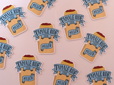 Tamale Ride Magnets
