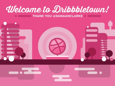 Dribbble Thank You!