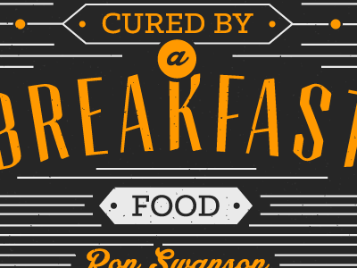 Parks and Recreation Quotes: Breakfast Foods typography poster typography poster quote poster quote motivational poster parks and recreation parks and rec ron swanson breakfast food breakfast