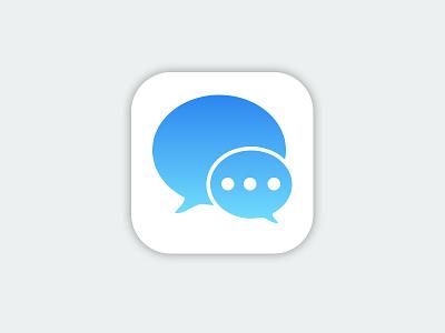 iMessage Icon | iOS8 apple imessage ios