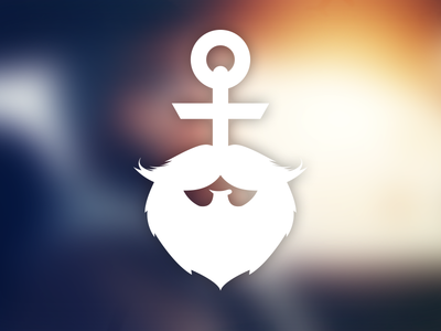 Putzbüdel Beard Oil - Logo sailor logo anchor beard beard oil