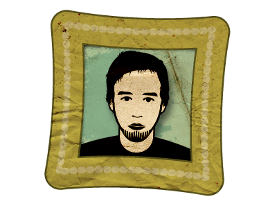 Self Portrait vector illustrator portrait