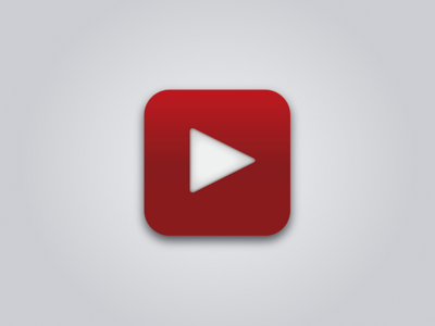 Simple YouTube iOS Icon ui icon youtube ios simple vector google iphone