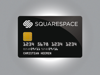 Squarespace Credit Card