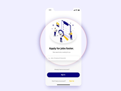 Swipe Hire Mobile App for Job seeker and Employer