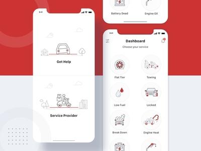 Roadly roadside assistance mobile app