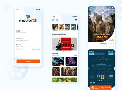 Movie ticket booking mobile application