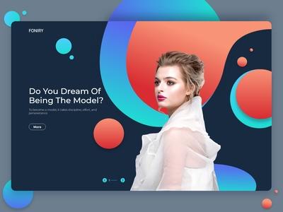 Modeling website design