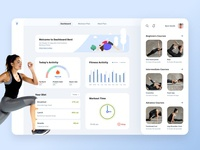 Fitness Dashboard design
