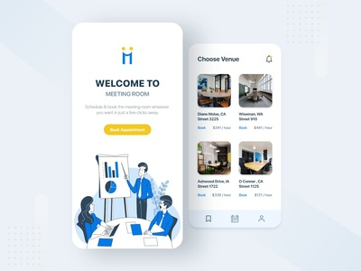 Meeting Room Mobile App