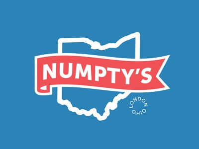 Numpty's Deli A web icon vector illustrator clean typography logo graphic design branding design