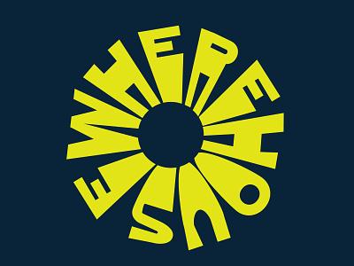 Wherehouse Badge badge design badge skate vector illustration typography logo branding graphic design design