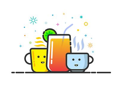 Cool Drinks lemon hot drink juice coffee tea mbe icon drink