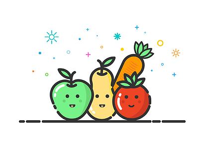 Fruits & Vegetables food vegetable fruit mbe icon