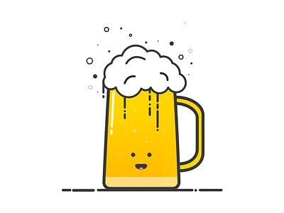 Beer Illustration drink icon illustration brews beer