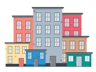 Building Illustrations home illustration building